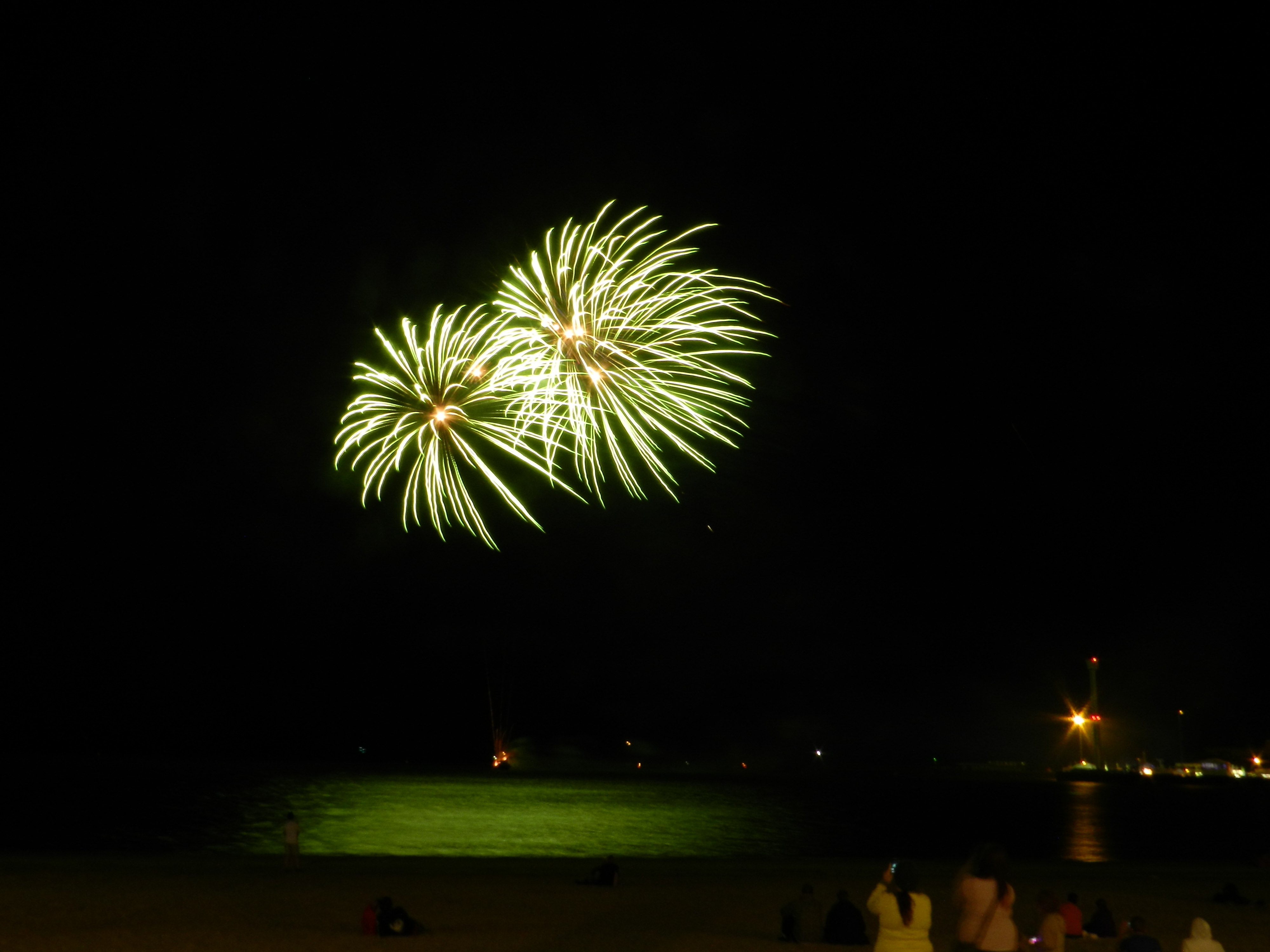 Weymouth opening ceremony for the London 2012 Olympic Games – Fireworks