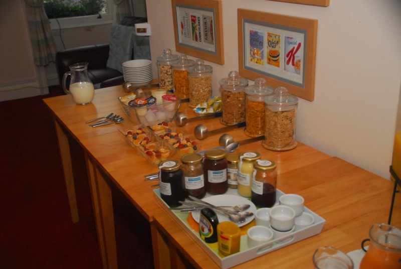 Weymouth Beach B&B gives breakfast a real wow factor