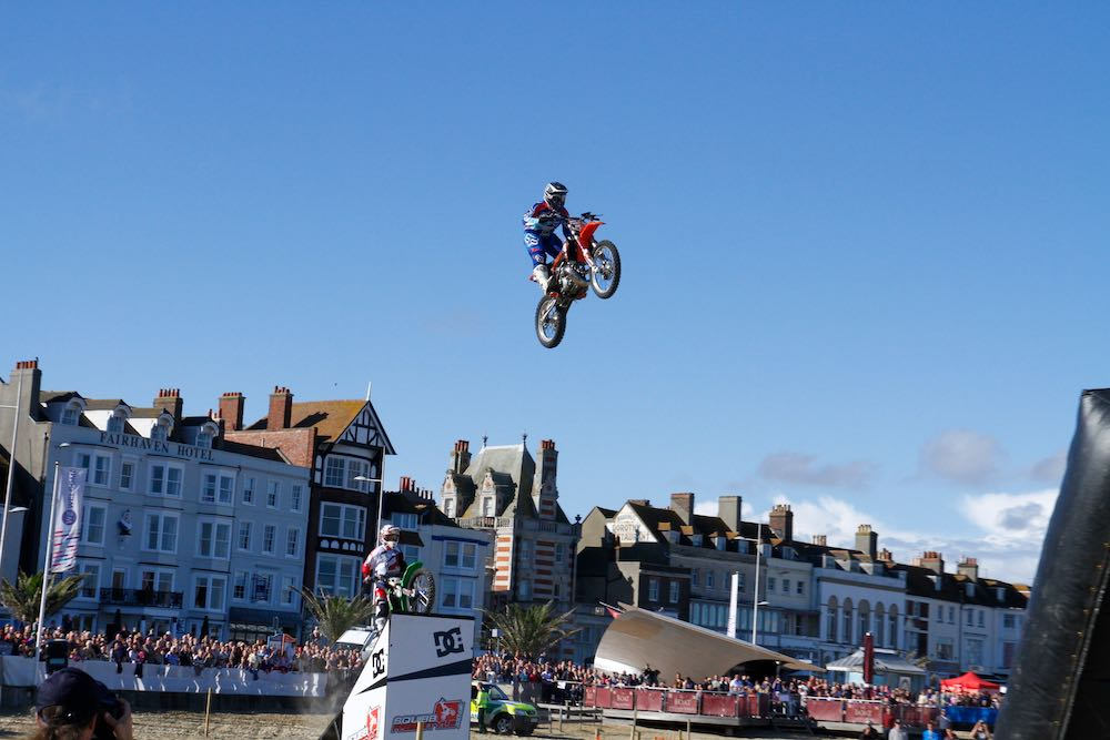 Squib Team at Weymouth Beach MotoX  1300