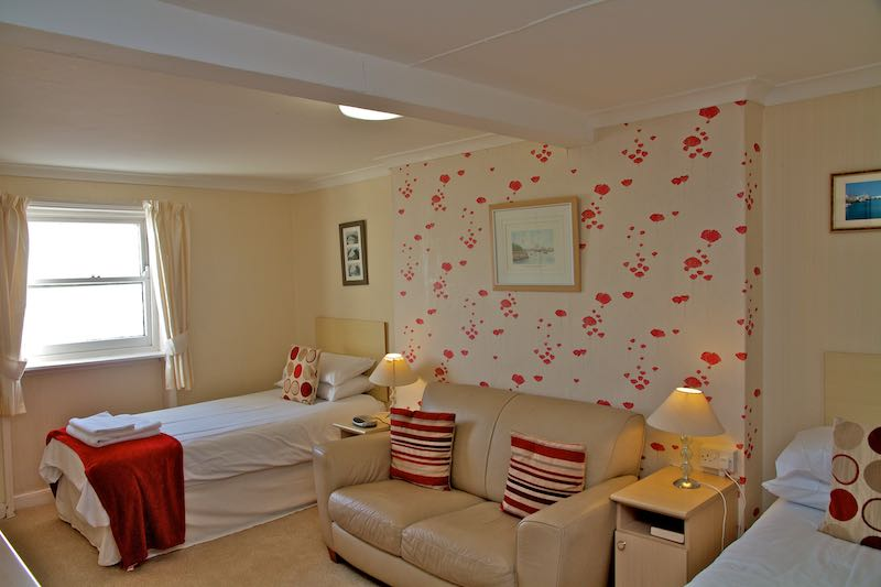 Twin Room at Weymouth Beach B and B