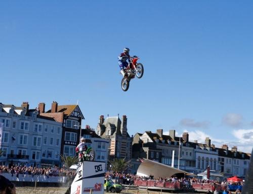 Squib Stunt Team to Display at Weymouth Beach MotoX